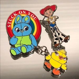 Disney Pins: Toy Story 4 Characters